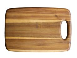 web Acacia Medium Cutting Board with COH